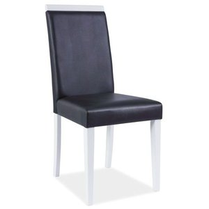Lisa stol - Svart/vit
