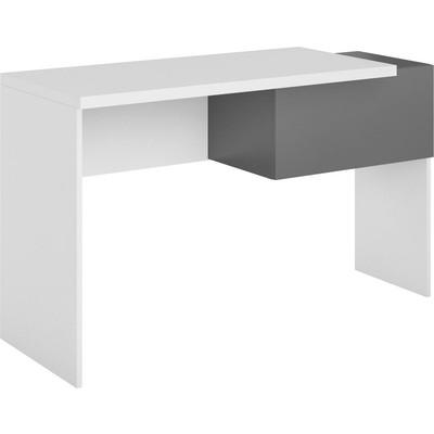 Bennett skrivbord - Graphite/vit
