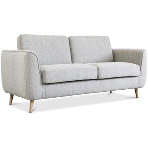Mineola 2-sits soffa - Ljusgrå