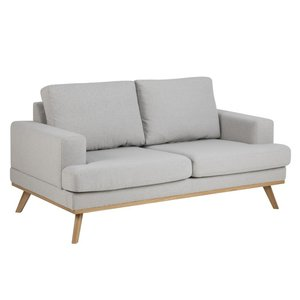 Ventura soffa 2 sits - Ljusgrå