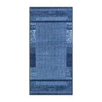 Gummerad matta Varese - Blå