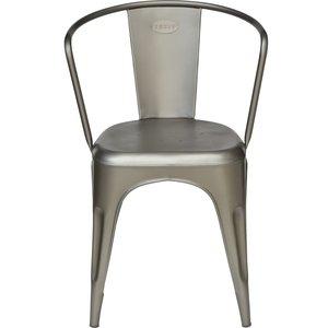 Vetlanda stol - Matt metall