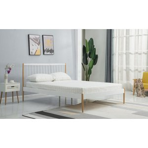 Fillin säng - Vit/ek