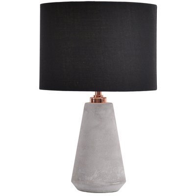 Cona Bordslampa - Keramik / Svart