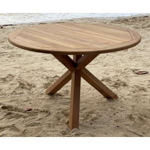 Saltö runt matbord i teak - 120 cm diameter