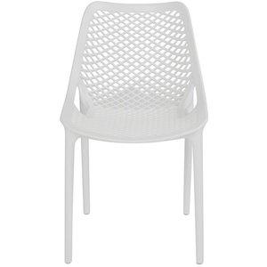 Siesta stol - Vit