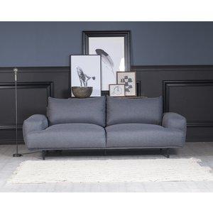 Cozy lounge 3-sits soffa - Grå