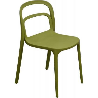 Nordanå plaststol - Mossgrön