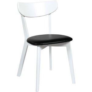 Hannah stol - Vit/svart