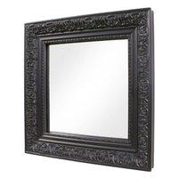 Spegel Barock - Svart