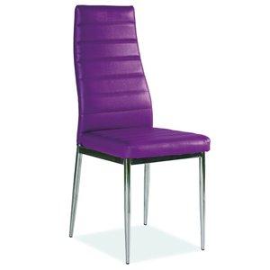 Stol Camarillo violett/krom