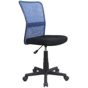 Fox skrivbordsstol - Svart/blå