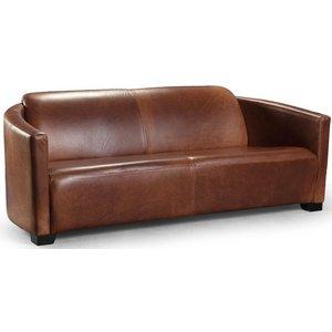 Corniche Vintage 3-sits lädersoffa