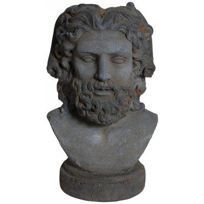 Trädgårdskonst Staty Old face - H50 cm