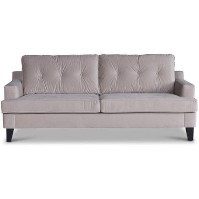 Space 2-sits soffa - Beige Sammet