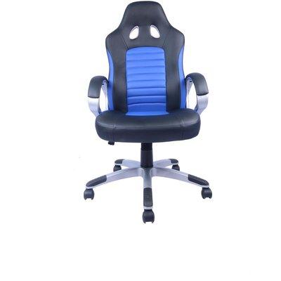 Boda datorstol - Blå/svart