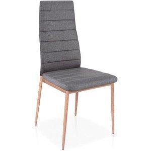 Raelynn stol - Grå/ek