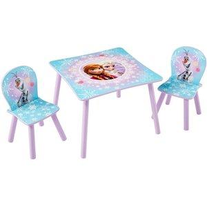 Frost bord och stolar - Rosa/blå