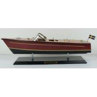Modellbåt Riva motorbåt - Mahogny