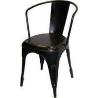 Vetlanda stol - Antik svart