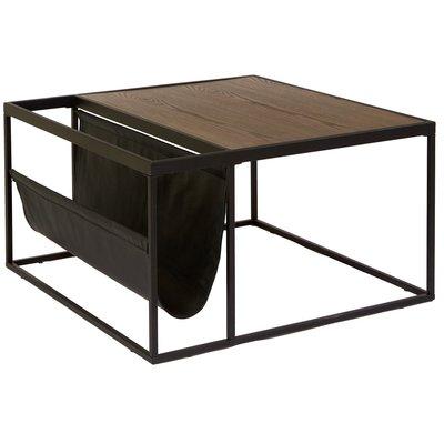 Felipe kvadratiskt soffbord - brunt ekfanèr