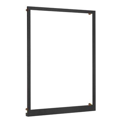 Frame vägglampa 70x50 cm - Svart
