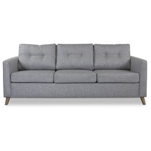 Friday 3-sits soffa - Ljusgrå