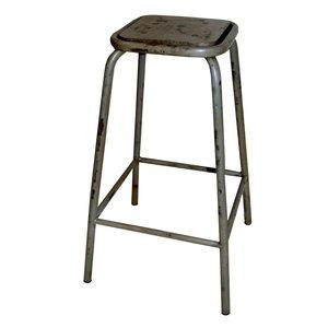 Laholm barstol - Vintage ljusgrå