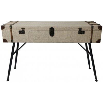 Louis skrivbord med förvaring - Koffert