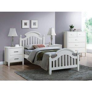 Säng Altoona 90x200 färg vit