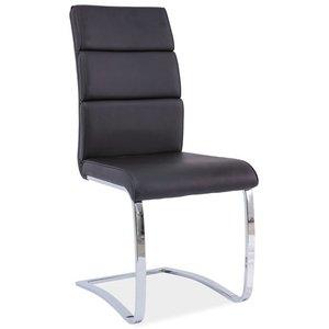 Cornell stol - Svart/krom