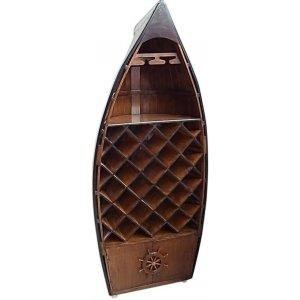 Marint vinställ av en båt - Vit