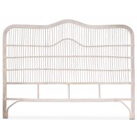 Baboo sänggavel i rotting B180 cm - Whitewash