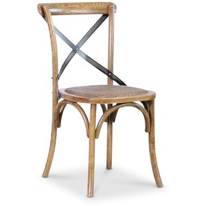Holmen vintage stol - Ek/metall