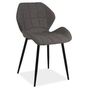 Anahi stol - Grå/svart