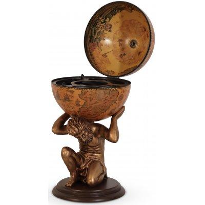 Michelangelo barglob staty 84 - Guldfärgad/ljusbrun
