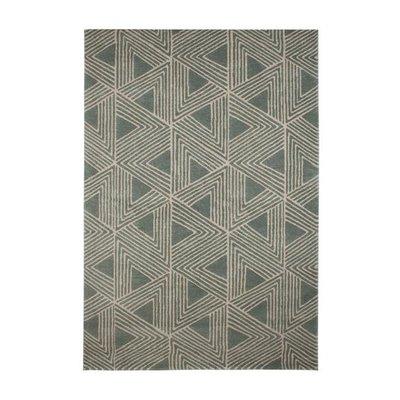 Maskinvävd matta Allan - Mint