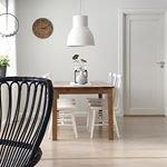 S? ljust och h?rligt! Hemma hos @langtan_eksjohus ~ ~ ~#kitchendesign #kitchen #interiordesign #interior # k?k #hemma #scandinaviandesign #scandinavian #table #chair #white #black #nature #diningroom #dining #sweden #k?k #matrum #pictureoftheday #inspo #inspohome #hem #hemma #home #scandinavian #scandinaviandesign #kitchen #kitchendesign
