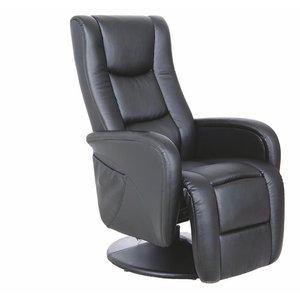Bibi reclinerfåtölj - Svart PU
