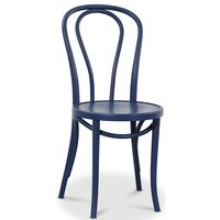 Böjträ Stol No18 Klassiker - Mörkblå