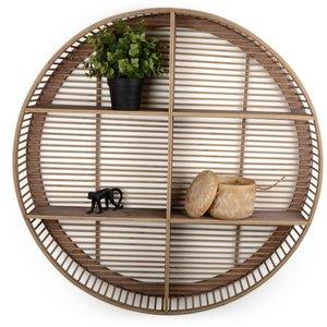 Vägghylla Natura - Bambu