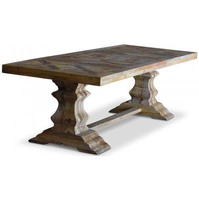 Palma matbord Rustikt 280 cm - Återvunnen drivved