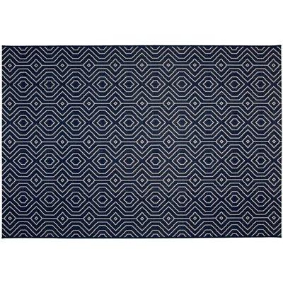 Flatvävd / slätvävd matta Tucson - Blå