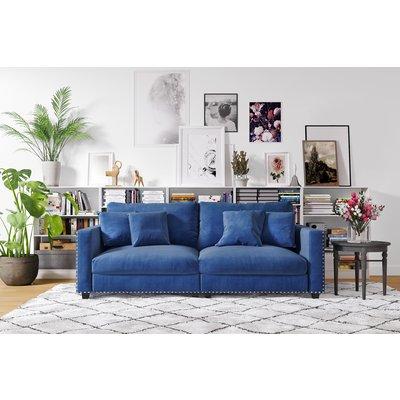 Avenue 4-sits soffa - Stålgrå