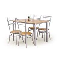 Kart matgrupp - Bord inklusive 4 st stolar