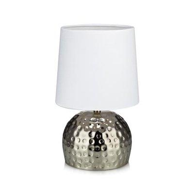 Hammer Bordslampa - Silver/Vit