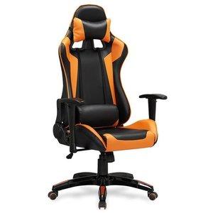 Jayde kontorsstol - Svart/orange