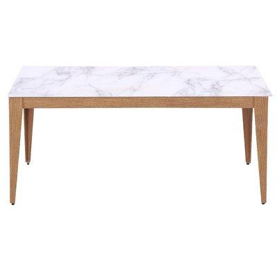 Quick matbord 180 cm - Marmorimitation/ekfolie