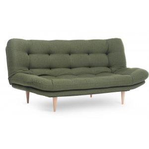 Fagerfjäll 2-sits bäddsoffa - Grön