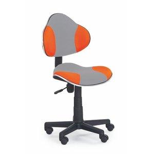 Cesar skrivbordsstol - Grå/orange